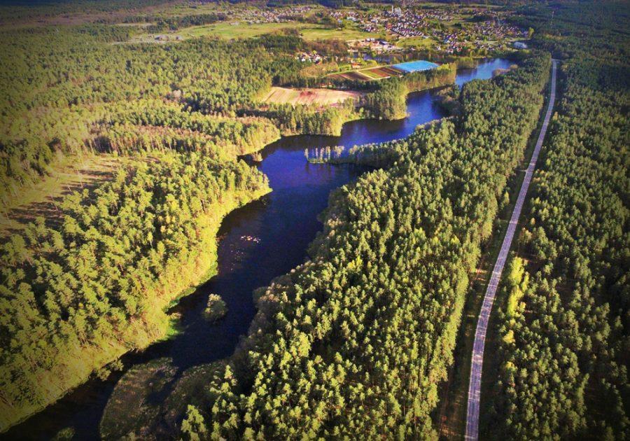 Baidarės Varėnės upe